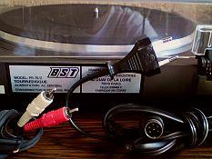 Platine tourne disques professionnelle courroie bst pr70 - Table de mixage professionnelle studio ...